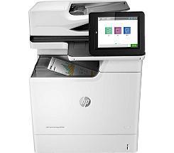 HP Color LaserJet Enterprise M681dh MFP Farblaserdrucker Scanner Kopierer LAN leasen