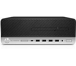 HP EliteDesk 705 G5 SFF Ryzen 7 PRO 3700 8GB/256GB SSD RX550X Win10 Pro 9PJ98EA leasen
