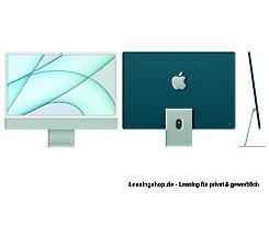 Apple iMac 24 mit 4,5K Display 256 GB Grün leasen, M1 Chip 8-Core CPU und 7-Core GPU, MJV83D/A