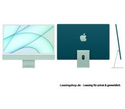 Apple iMac 24 mit 4,5K Display 256 GB Grün leasen, M1 Chip 8-Core CPU und 8-Core GPU, MGPH3D/A