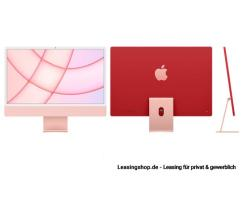 Apple iMac 24 mit 4,5K Display 256 GB Rose leasen, M1 Chip 8-Core CPU und 7-Core GPU, MJVA3D/A