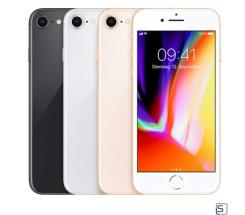 Apple iPhone 8 64/256GB ohne Vertrag leasen, Gold, Silber, SpaceGrau