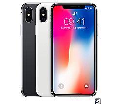iPhone X 64/256 GB ohne Vertrag leasen, Silber, SpaceGrau