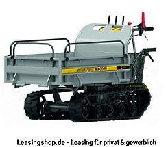 Lumag Minidumper MD 600PRO1 mit Kettenbetrieb leasen