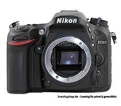 Nikon D7200 Body leasen
