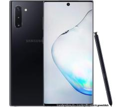 Samsung Galaxy Note 10 aura black, 256 GB,  Dual SIM, N970F,  leasen ohne Vertrag (Handy)