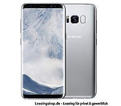 Samsung Galaxy S8, 64GB leasen, ohne Vertrag (Handy), arctic silver G950F