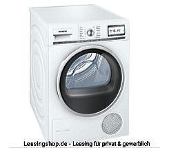 Siemens WT48Y7W3 Wärmepumpentrockner A+++ leasen