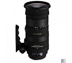 Sigma 50-500mm f/4.5-6.3 DG OS HSM  für Canon