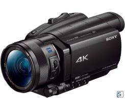 Sony FDR-AX700 leasen, 4K HDR Camcorder