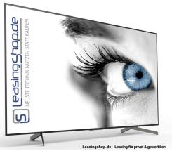 Sony KD-85XG8596 TV leasen