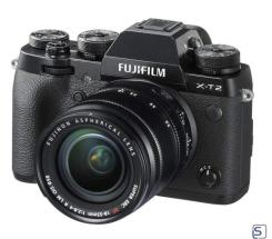 Fujifilm X-T2 Kit 18-55mm leasen, schwarz