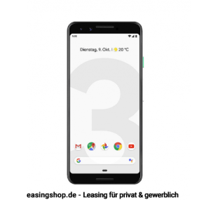 Google Pixel 3 Clearly White 64GB leasen, ohne Vertrag (Handy)