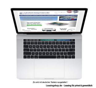MacBook Pro 13 mit Touch ID, Modell 2017 MPXX2D/A leasen