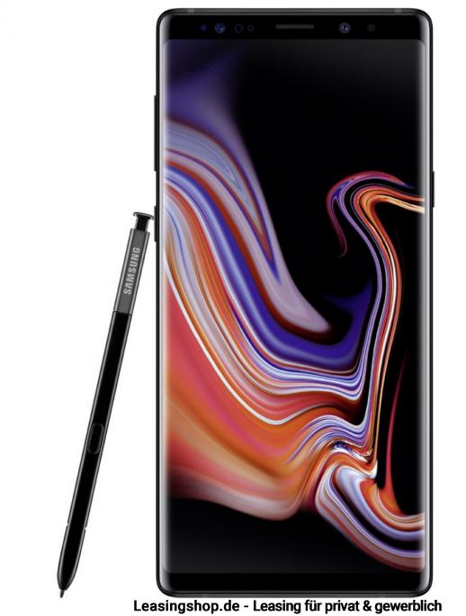 Samsung Galaxy Note 9 Dual Sim 128gb Midnight Black Leasen Ohne